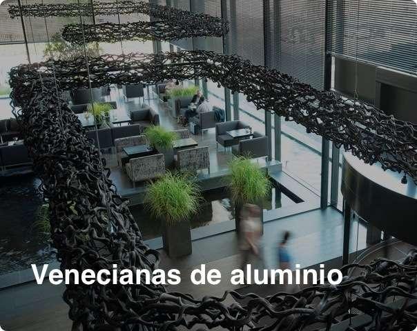 Venecianas de aluminio